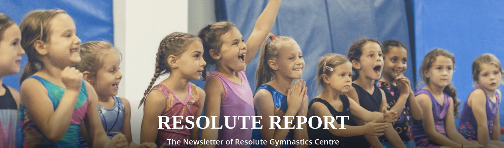 RESOLUTE REPORT