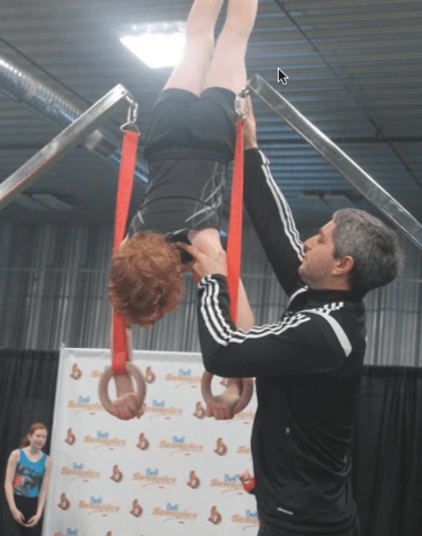 Rideau gimnastics Pick-up & Drop off