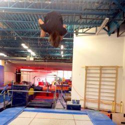 Trampoline at Rideau Gymnastics