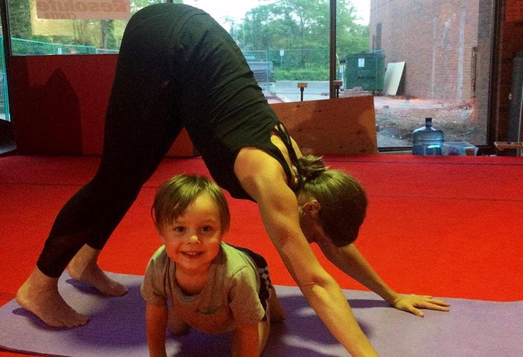 Parent and Tot Yoga