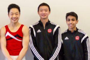 Canadian Championships - Nathanael, Aidan and Philo